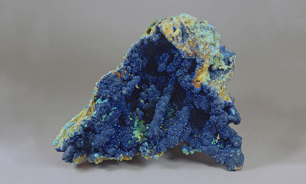 Azurite- Copper Queen mine, Bisbee, Arizona