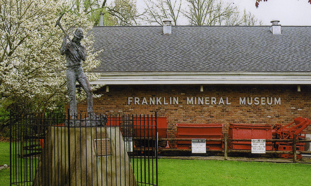 Franklin Mineral Museum in the summer