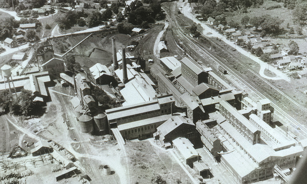 Franklin Mill Aerial View