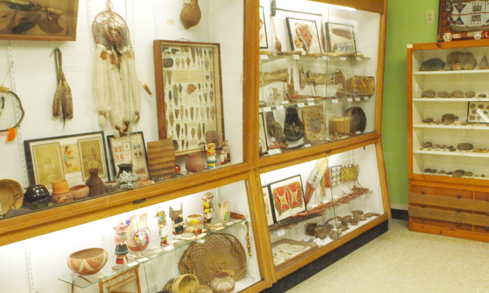 American Indian Artifacts Franklin Mineral Museum